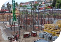Comenzó construcción de la sede San Antonio
